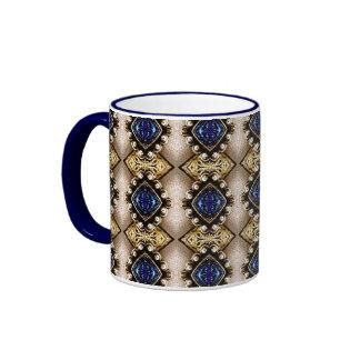 Blue Jewels Mug
