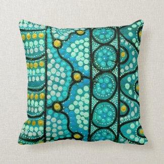 Blue Journey Pillow/Cushion Cushions