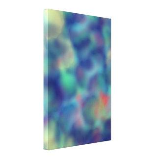 Blue Joy Abstract 5236 Canvas Print