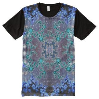 Blue Kaleidoscope All-Over Print T-Shirt