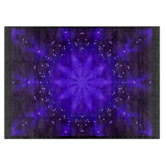 Blue Kaleidoscope Chopping Board