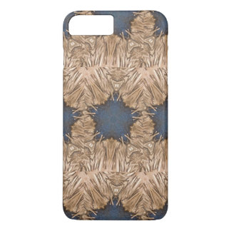 Blue Kaleidoscope Star Wicker Background iPhone 8 Plus/7 Plus Case