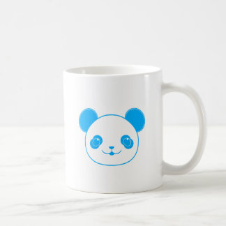 Blue Kawaii Panda Bear Coffee Mug