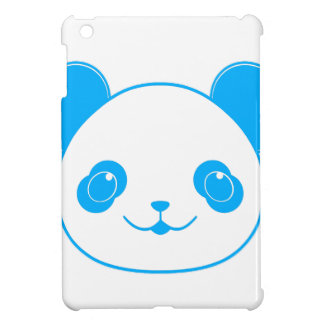 Blue Kawaii Panda Bear iPad Mini Cases