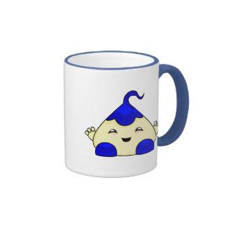 Blue Kawaii Tickle Monster Mugs