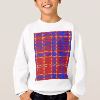 Blue Kilt Tartan Sweatshirt