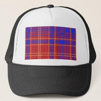 Blue Kilt Tartan Trucker Hat