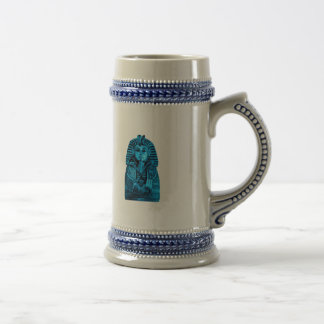 Blue King Tut Coffee Mugs