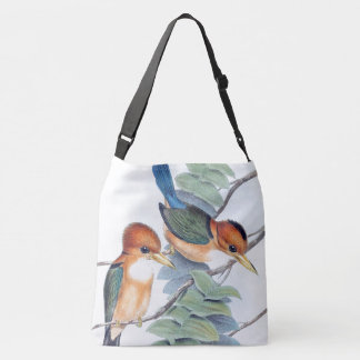 Blue Kingfisher Birds Wildlife Animal Bag