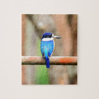 BLUE KINGFISHER QUEENSLAND AUSTRALIA JIGSAW PUZZLE