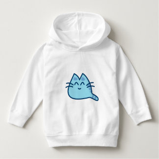Blue kitten sweater