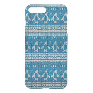 Blue Knitted Background iPhone 7 Plus Case