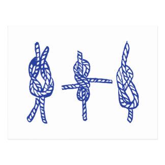 Blue Knots Postcard