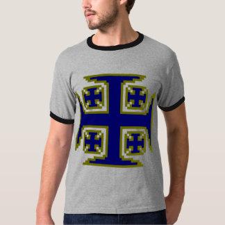 Blue Kross™ Mens' Ringer T-Shirt