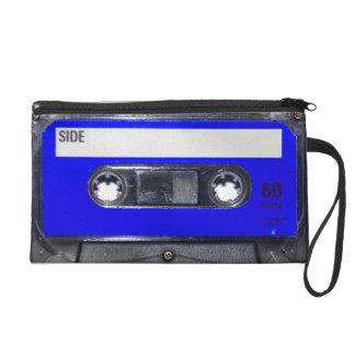 Blue Label Cassette Wristlet Clutches