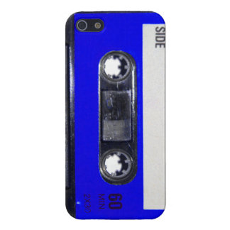 Blue Label Cassette Case For The iPhone 5