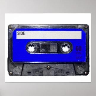 Blue Label Cassette Poster