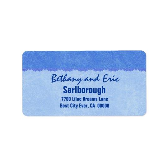 Blue Lace  A301 Label