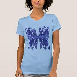 Blue Lace Fractal T-shirt