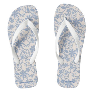 Blue Lace Thongs