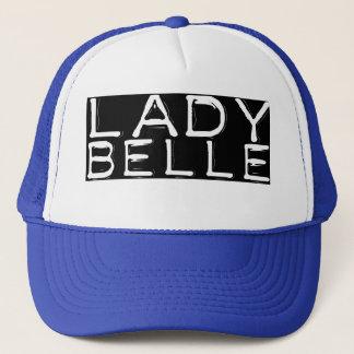 """Blue """"Lady Belle"""" Trucker Hat"""