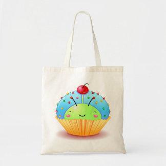 Blue Ladybug Cupcake Bag