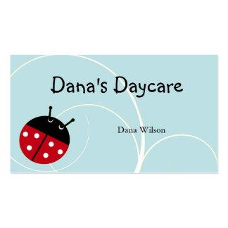 Blue Ladybug Daycare Business Card