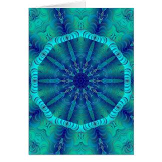 Blue Lagoon Card