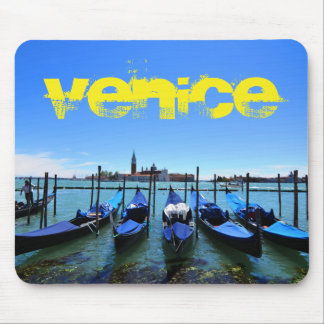 Blue lagoon in Venice, Italy Mouse Pad