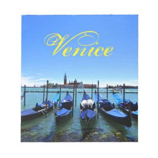 Blue lagoon in Venice, Italy Notepad