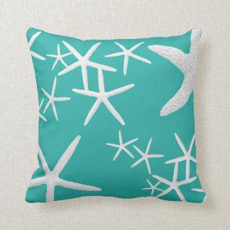 Blue Lagoon Starfish Decorative Throw Pillow
