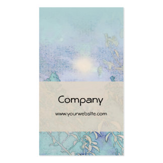 Blue Landscape Harmony Pack Of Standard Business Cards
