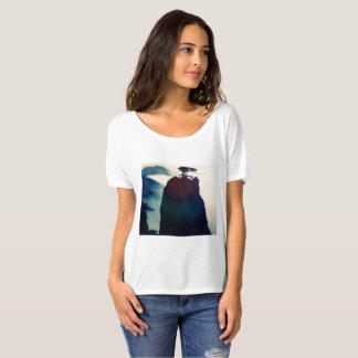 Blue landscape Mountains T-Shirt