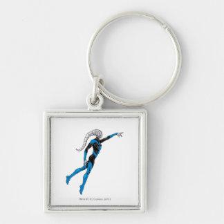 Blue Lantern 10 Key Chain