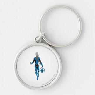 Blue Lantern 4 Key Chain