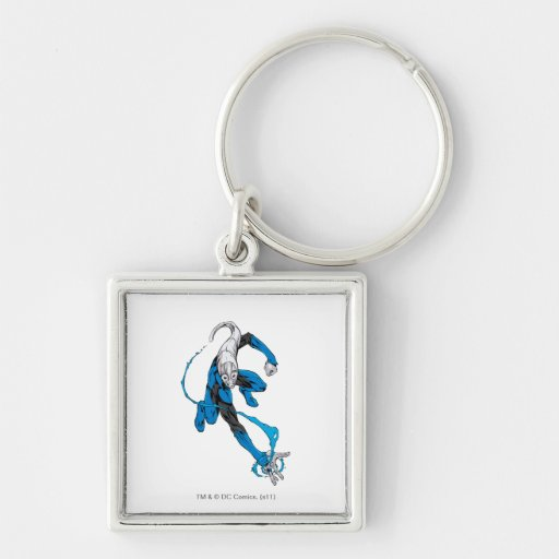 Blue Lantern 7 Key Chain