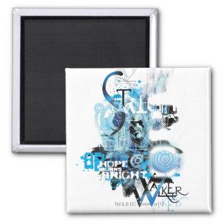 Blue Lantern Graphic 1 Magnet