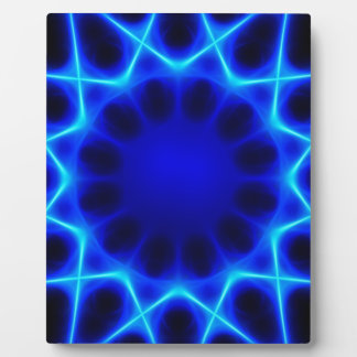 Blue laser #2 plaque