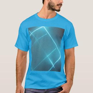 Blue Laser Beam T Shirt
