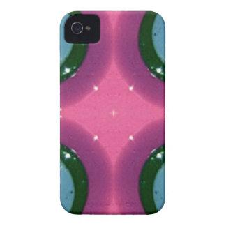 Blue Lavender Magenta Shiny Ceramics Photography iPhone 4 Covers