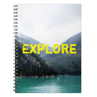 Blue Layers Notebook