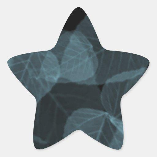 Blue Leaf X-Ray.png Star Sticker