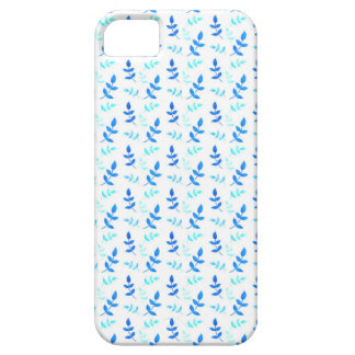 Blue leaves - Blue Leaves Barely There iPhone 5 Case