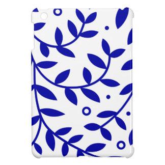 Blue Leaves iPad Mini Case