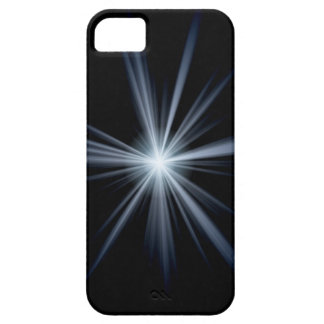 Blue Lens Flare Burst iPhone 5 Case