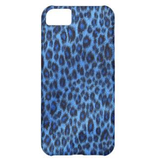 Blue Leopard Print iPhone 5 Case