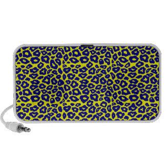 Blue Leopard Mini Speaker