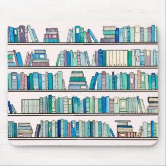 Blue Library Mousepad