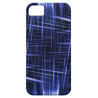 Blue light beams pattern case for the iPhone 5