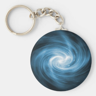 Blue light whirlpool key ring